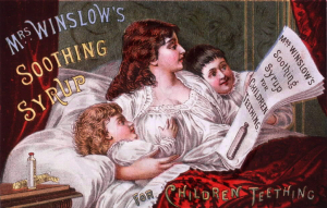 Behind the Scenes – Mrs Winslow's Soothing Syrup