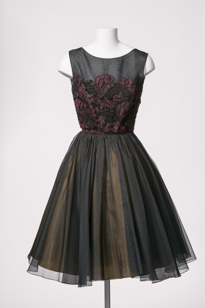 Gwen Gillam 1950s cocktail dress