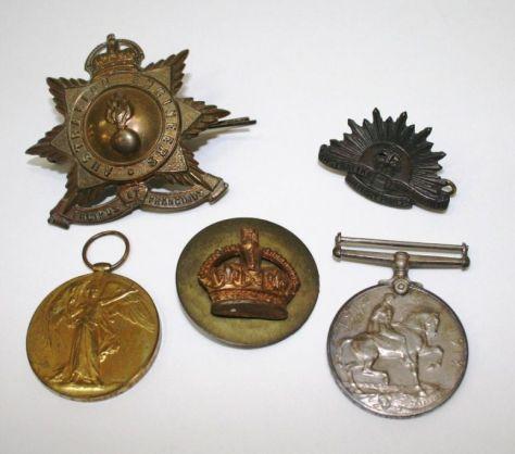 Pg 2 - Arthur Bennet medals
