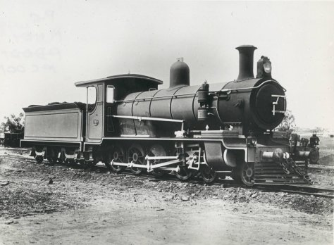 Locomotive C16 No 395 in 1903