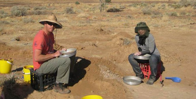 Archaeology in the field – reflecting on the Mill Point experience of lantana, laughs & lake.