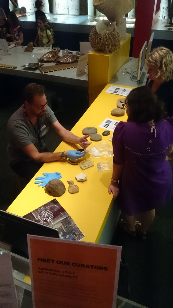 Nick Hadnutt and stone tool talk
