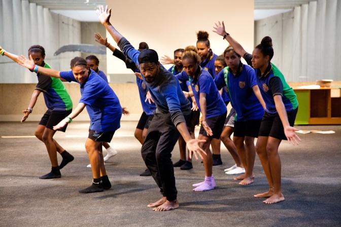 Digi Youth Arts in Queensland Museum