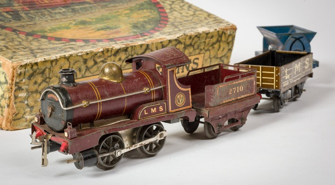 A Toy Train for Christmas