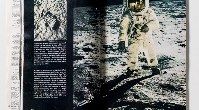 We remember the first explorers on the Moon, do you?