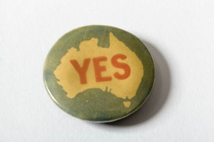 Button Badge, YES, N6842