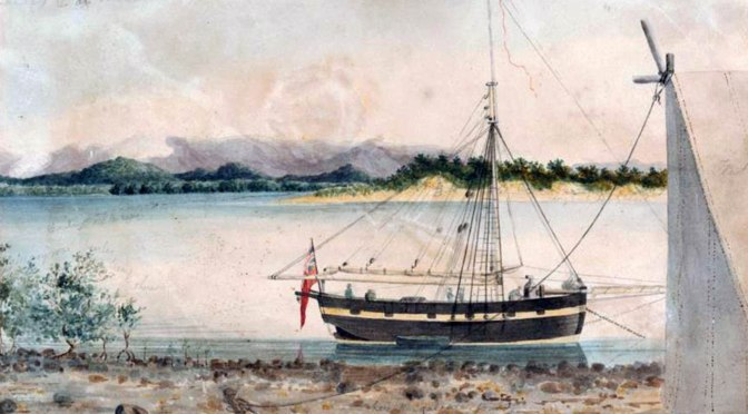 14 June 2019: Bicentenary of Philip Parker King and the HMS Mermaid visiting the Townsville Area
