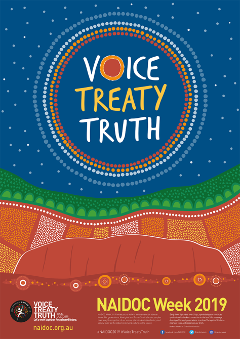 2019 National NAIDOC Poster.