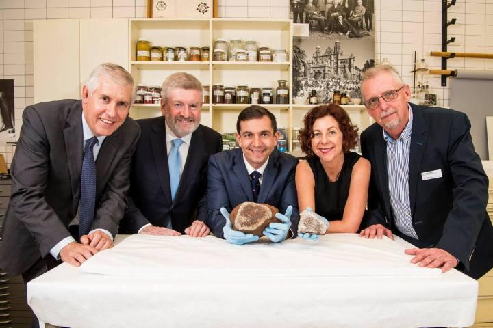 Meteorite - CEO, Senator Mitch Fifield, Australian Government,Mr Trevor Evans MP, Member for Brisbane, Assistant Minister Jennifer Howard, Qld Gov, Rob Adlard