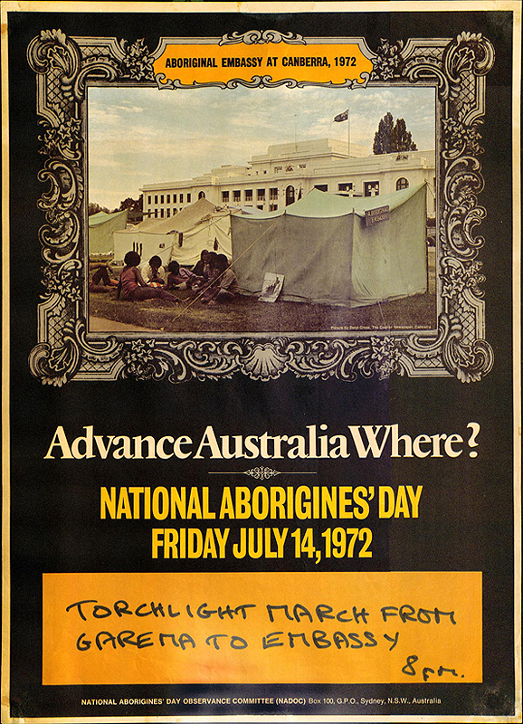 National Aborigines Day Poster, 1972.