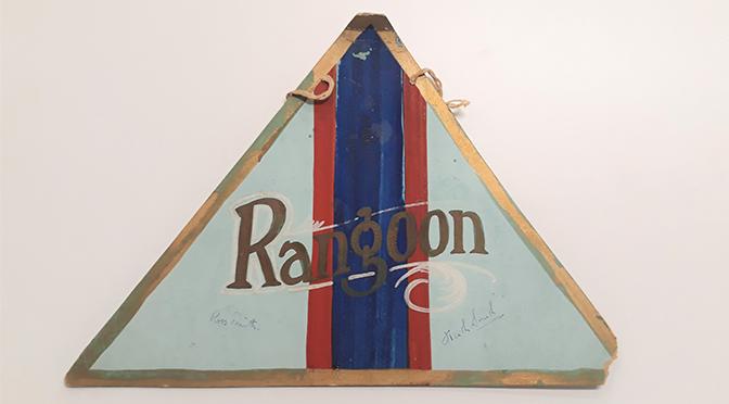 Rangoon Badge