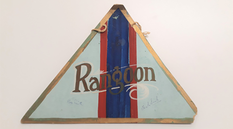 Rangoon Badge