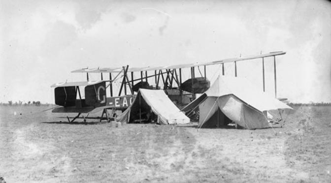 Vickers Vimy camp