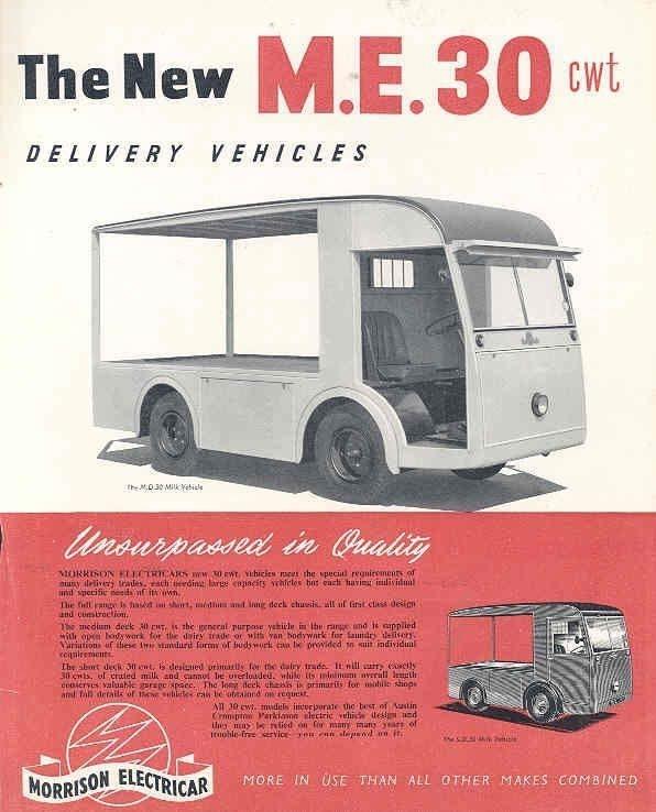 1953 milk van