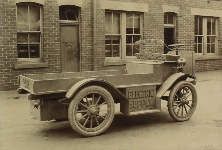 Baker lorry Geelong 1912 Mus Vic