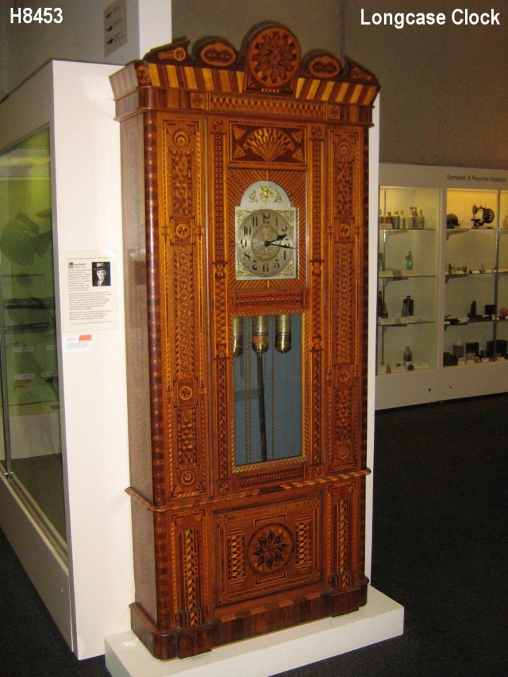 H8453 Longcase Clock