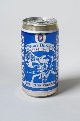 Aluminium Foster's Beer can